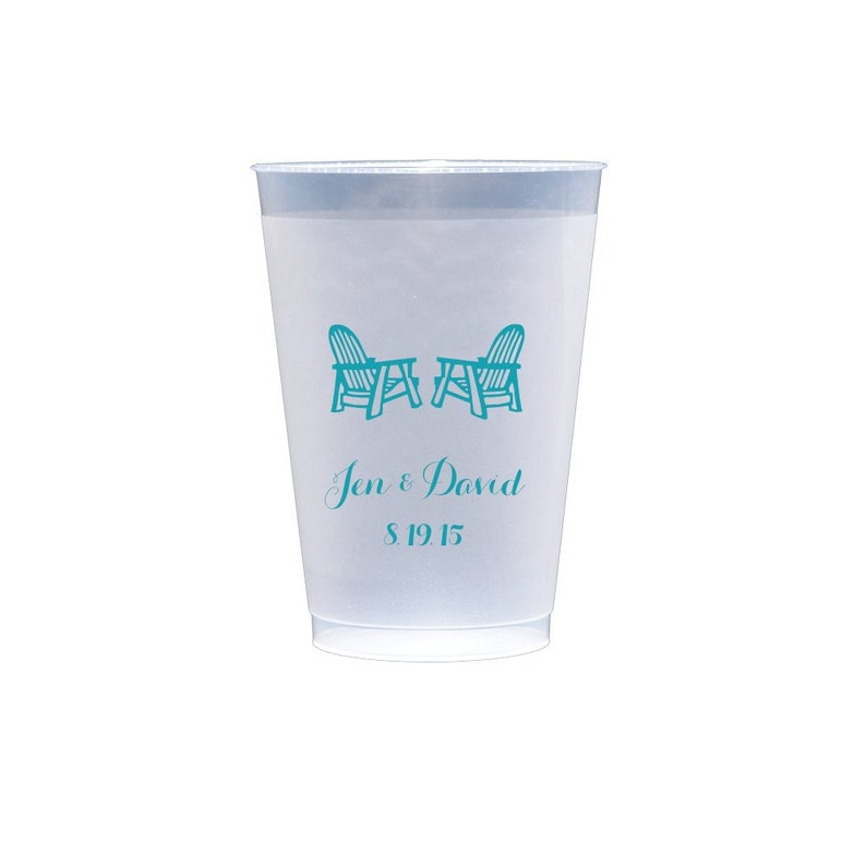 First Name Personalized Wedding Cups   Bridal Shower  Rehearsal Dinner  Bachelorette Shatterproof Plastic Cups