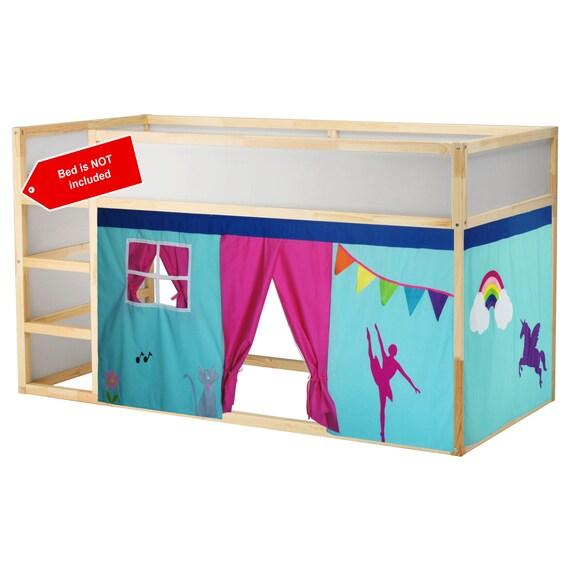 Tenda Letto A Castello.Ballerina Tenda Per Letto A Castello Unicorn Possiamo Personalizzare I Colori Personalizzazione Di Disegno Libero