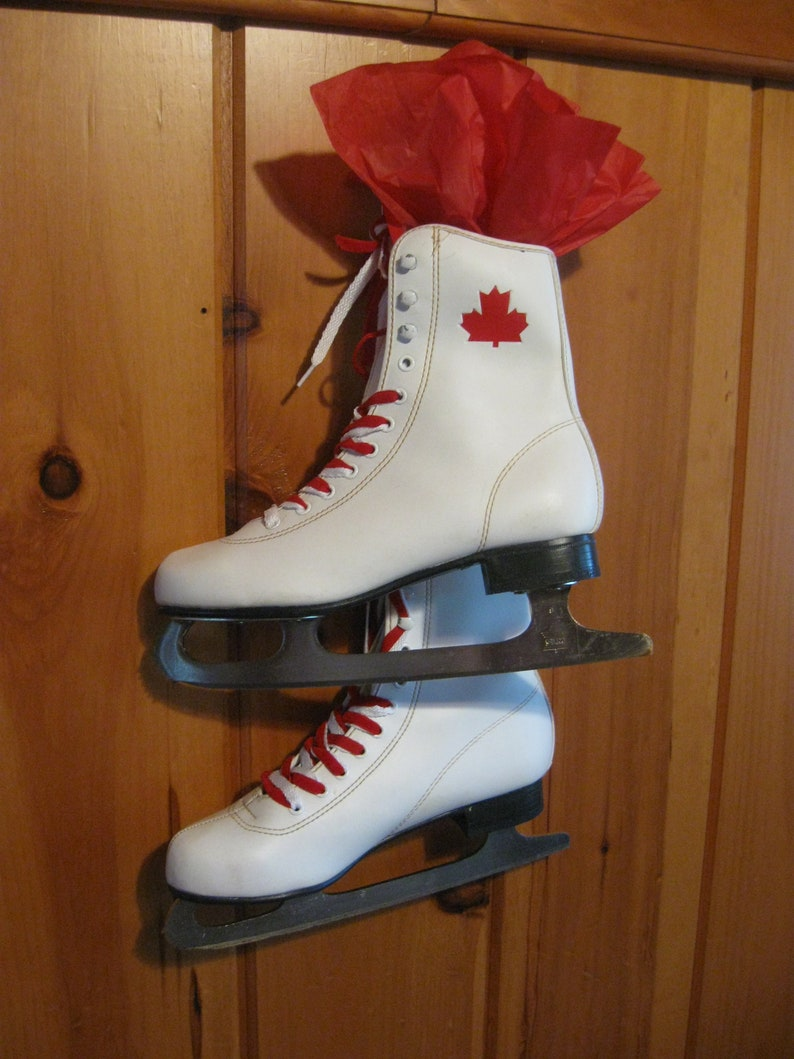 Ice Skates For Sale >> On Sale Now Up Cycled Canadian Ice Skates