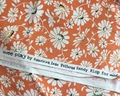 Orange Flowers Wee play Moda Sandy Klop Daisy American Jane