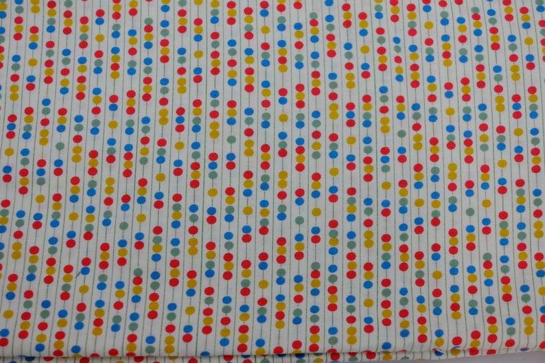 Dots Star Yellow // Orange Under The Big Top Stripes Benartex Triangles