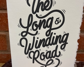 The long and winding road- the Beatles [ GOOD THOUGHTS ]