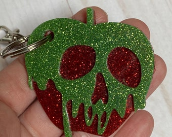 Disney Snow White poison apple key ring key chain