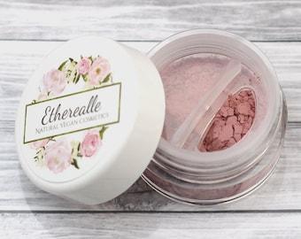 """Matte Rose Pink Eyeshadow - """"Penelope""""  - Vegan Mineral Makeup"""