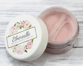 "Light Pink Shimmer Eyeshadow - ""Splendor"" - Vegan Mineral Makeup"
