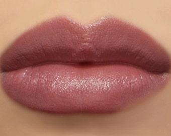 "Vegan Lipstick - ""Soulful"" (earthy mauve lipstick, brownish purple) lip tint, balm, lip colour mineral lipstick"