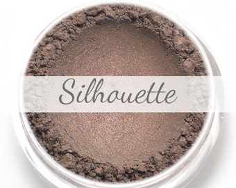"""Eyeshadow Sample - """"Silhouette"""" - taupe with pink/purple duochrome - all natural vegan mineral makeup"""