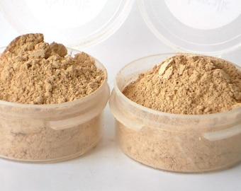 2 Mineral Foundation Samples - Delicate - choose from 14 shades - Vegan Sample Set