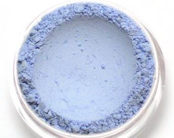 "Matte Light Blue Eyeshadow - ""Snowdrop"" - Vegan Mineral Makeup"