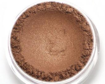 "Bronze Shimmer Eyeshadow - ""Legend"" - Vegan Mineral Makeup"