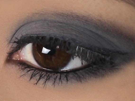 Matte Dark Gray Eyeshadow Stone Vegan Mineral Etsy