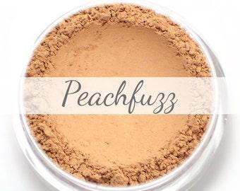 "Eyeshadow Sample - ""Peachfuzz"" - matte peach - vegan mineral makeup"