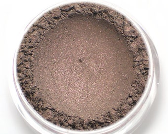"""Taupe with Pink Shimmer Eyeshadow - """"Silhouette"""" - Vegan Mineral Makeup"""