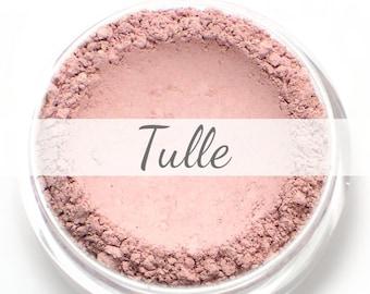 """Eyeshadow Sample - """"Tulle"""" - matte light ballet pink color - all natural vegan mineral makeup"""