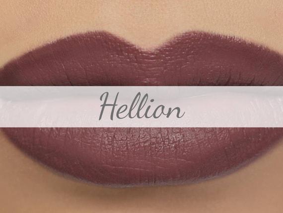 Vegane Matte Lippenstift Probe Hellion Dunkel Etsy