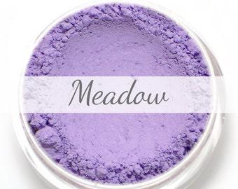 """Eyeshadow Sample - """"Meadow"""" - matte lavender purple natural mineral makeup"""