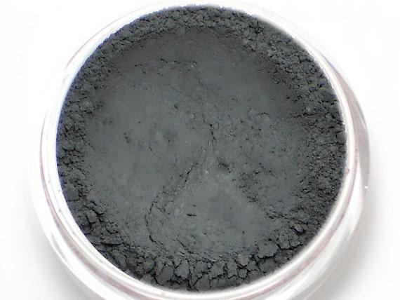 Matte Dark Gray Eyeshadow Stone Natural Vegan Etsy
