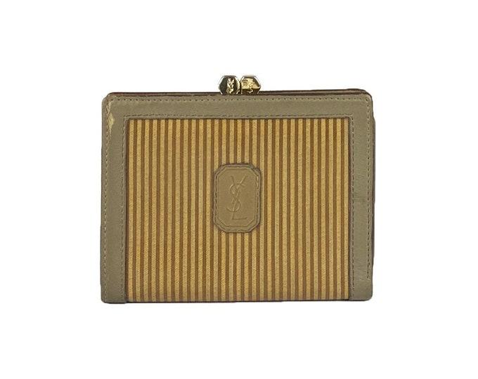 Yves Saint Laurent Vintage Wallet - Vintage Wallet Yves Saint Laurent For Her