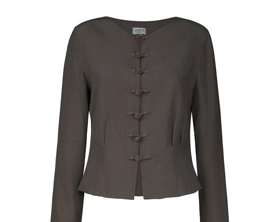 80s ARMANI Woman Vintage Jacket - Armani Vintage Bolero - Vintage Armani Woman Blazer