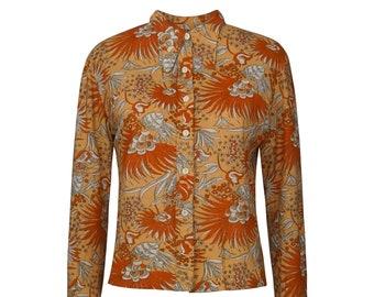 70's Vintage Flower Shirt