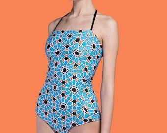 Vintage Inspired Swimsuit - Fimmina Beachwear