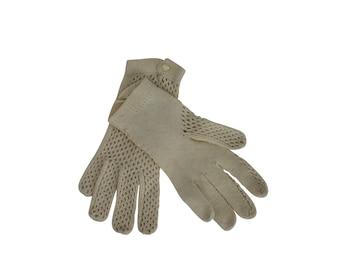 Woman Vintage Crochet Lace Gloves - Cotton Vintage Gloves For Her