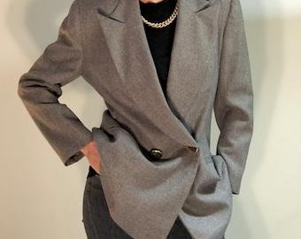 Vintage GAI MATTIOLO Blazer -Made In Italy Vintage Blazer - 80's Vintage Woman's Blazer