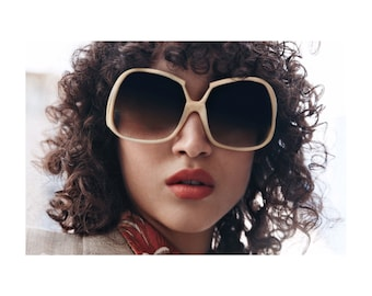 DIOR 70s Vintage Sunglasses - Iconic 70s Sunglasses for Her - Christian Dior 70s Accessories