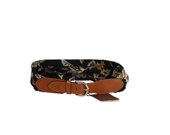 Henry Cotton's Vintage 90s Flowers Belt