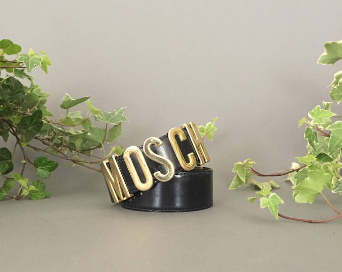 Vintage iconic MOSCHINO belt