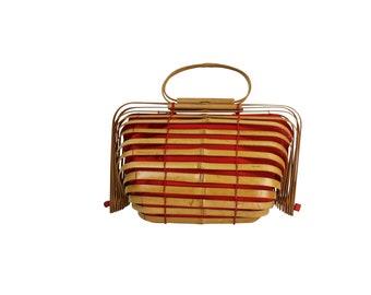 Japanese Bamboo Bag Etsy