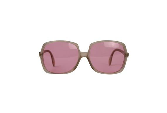 Silhouette Vintage Pink Lenses Sunglasses - 70's V