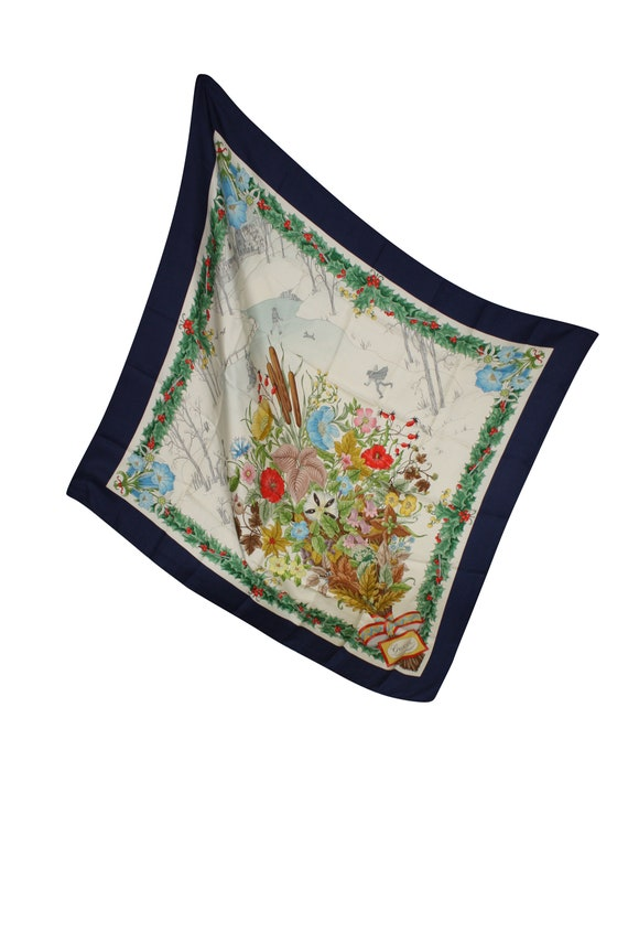 Gucci Vintage Silk Foulard