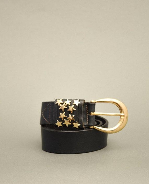 Vintage Golden Stars Belt
