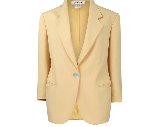 Vintage Genny Woman Blazer - Vintage Blazer For Her - 90s Vintage Blazer