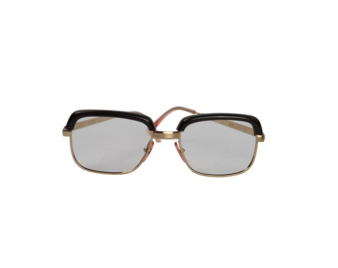 Iconic Vintage Browline Frame From 60s - Vintage Unisex Frame - Browline Frame - Rockabilly Frame Original