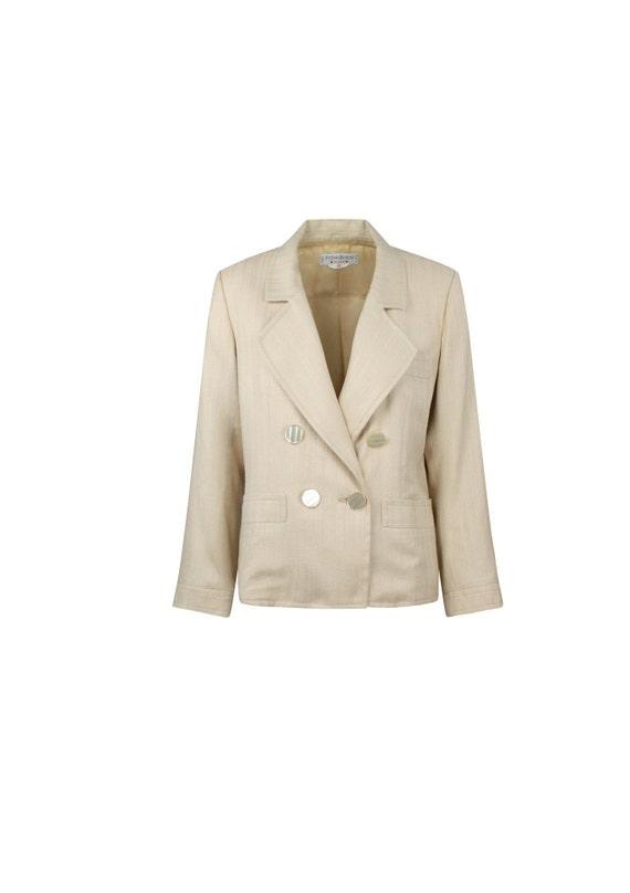 Blazer Yves Saint Laurent Vintage - Blazer Vintage YSL Donna