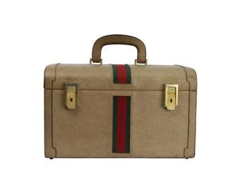 Authentic GUCCI Travel Case - Gucci MakeUp Case Bag - Vintage Gucci Beauty Case