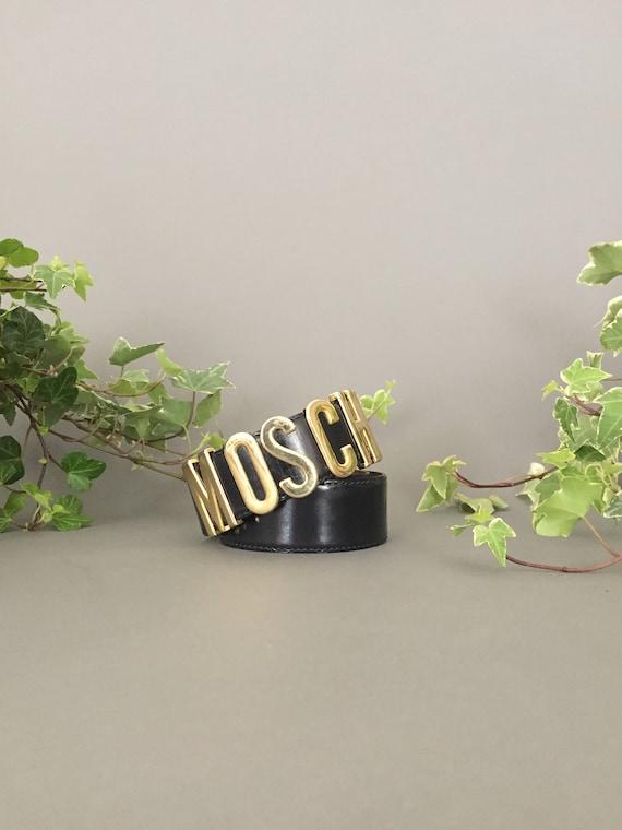 Vintage iconic MOSCHINO belt