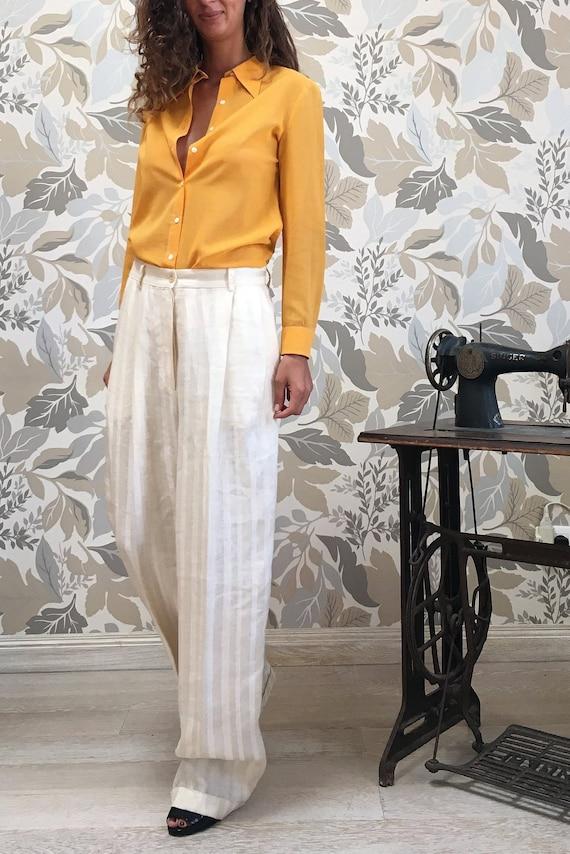 Trussardi Vintage Wide Trousers