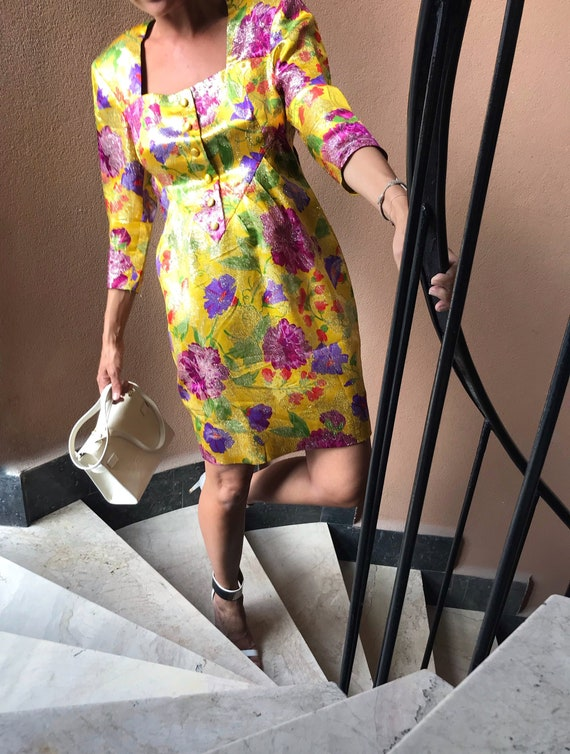 Vintage Party Dress from 80s - Vintage 80s Mini Dr