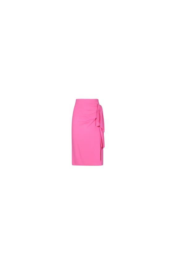 Vintage Longuette Draped Skirt