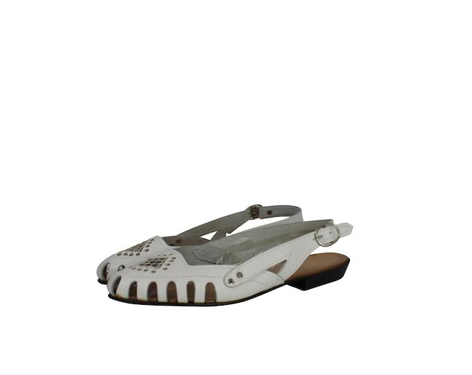 Vintage Boho Sandals for Her - Lady Fashion Shoes Vintage - Vintage Lady's Shoes from 80s