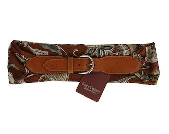 90s Vintage Flowers Belt - Henry Cotton's Woman 90s Belt