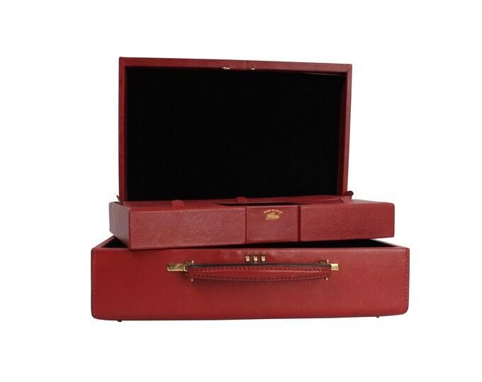Authentic GUCCI Travel Case - Gucci Jewelry Case Bag - Vintage Gucci Case