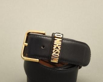 Vintage MOSCHINO Belt - 90s Moschino Woman Belt