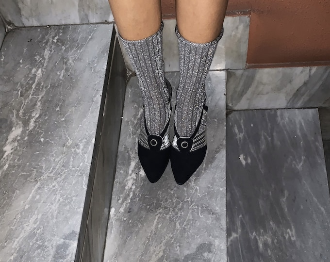 Vintage Sandals for Her - Lady Fashion Sandals Vintage - Vintage Lady's Shoes