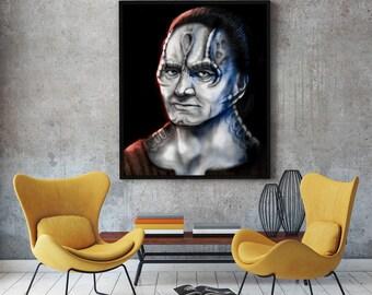 Elim Garak - Star Trek Deep Space Nine - Canvas Print - Multiple Sizes