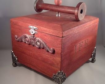 Red Spool Box