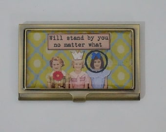 Bronze Metall Visitenkarten Etui Zigarettenetui Etsy